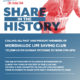 Share in the History